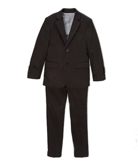 Designer Isaac Mizrahi Cotton Suit - Black