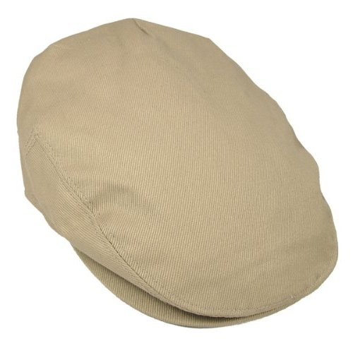 Cotton Ivy Newsboy Cap - Khaki