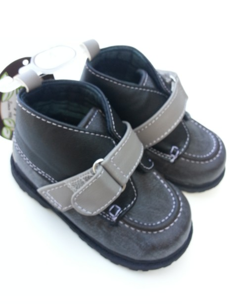 **Blow-Out Sale** Baby Deer Gray Leather Hiking Shoes