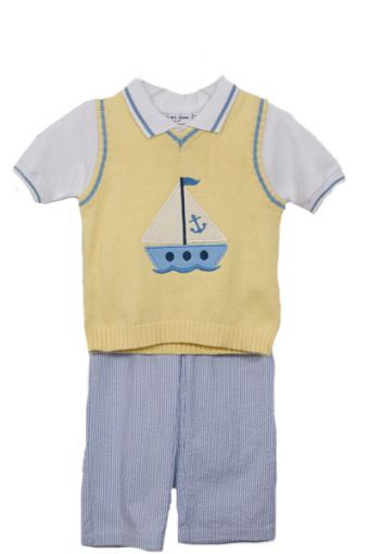 BTK Sailor Boy Vest and Pants Set SALE