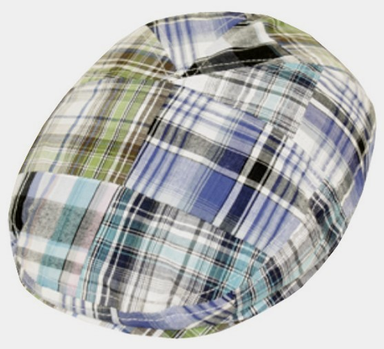 63% Off  Cotton Patch Plaid Golf Driver Cap - Blue