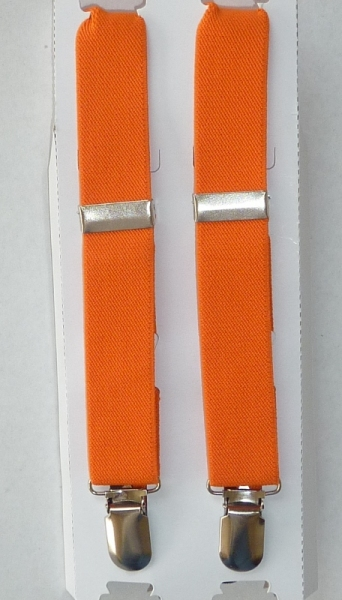 Infant / Baby Suspenders - Orange