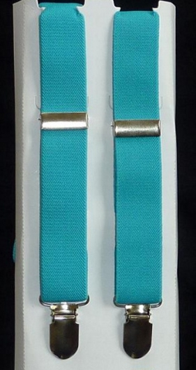 Infant & Youth Suspenders - Turquoise