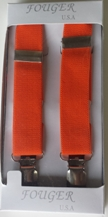orange elastic suspenders