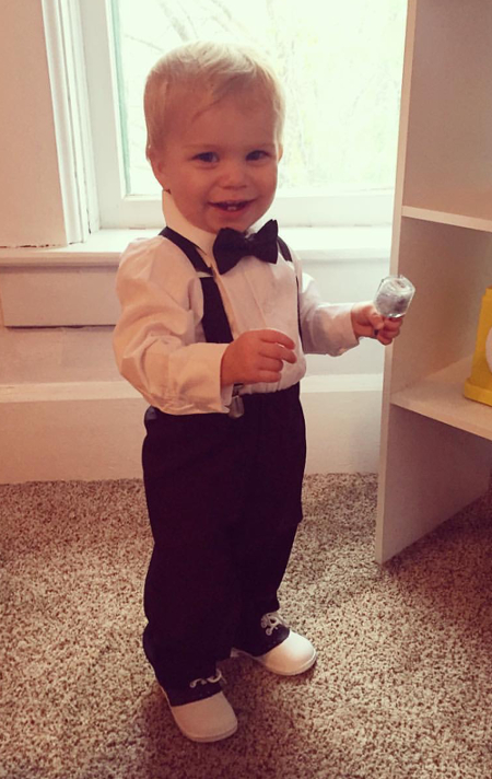 Ring Bearer Pants / Suspenders Set - Charcoal
