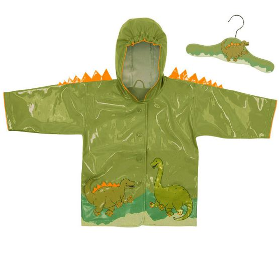 Kidorable Kids Raincoat - Dinosaur