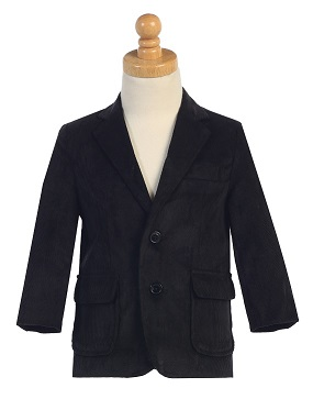 **New Winter/Spring Warm-Ups** Corduroy Black Blazer
