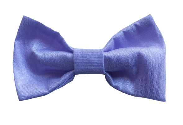 lilac baby silk bow tie