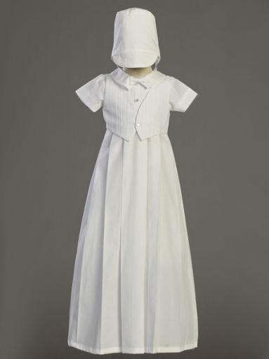 Cotton Christening Gown - Heirloom  Collection