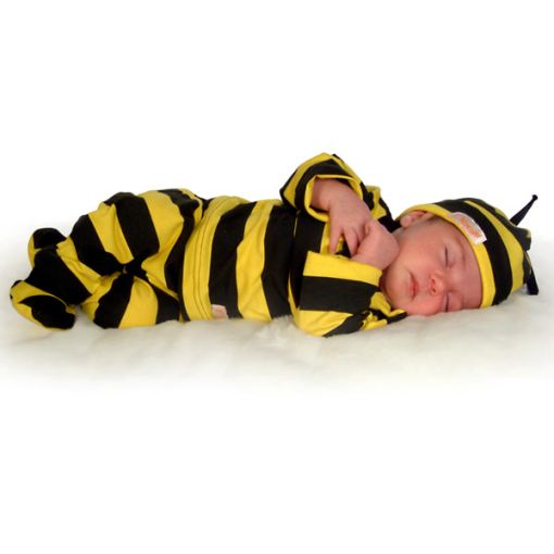 Baby Bumblebee Outfit 4 - Piece Set