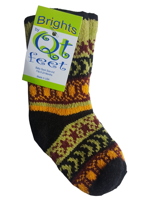 *With Clare* Baby's Recycled Cotton Socks by QT Feet
