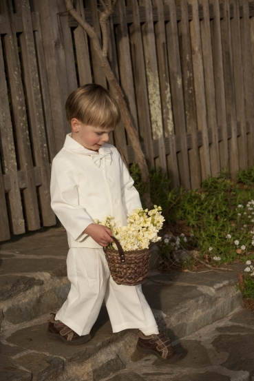 Eton 4 pc Suit With Pants - Ivory