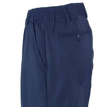 Boys Navy Poly-Rayon Dress Pants