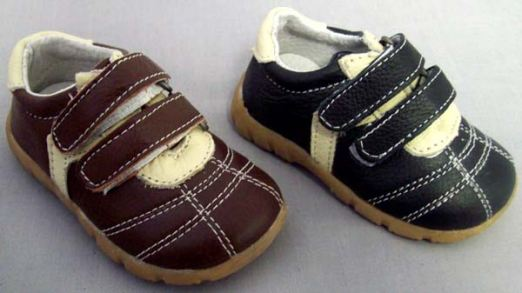 Black 2-Tone Casual Shoes - Infant And Toddler