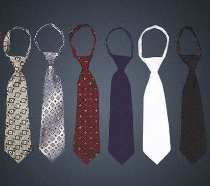 Zipper Ties - Medium