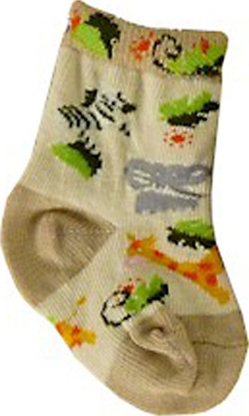 *With Clair* African Safari Baby Socks