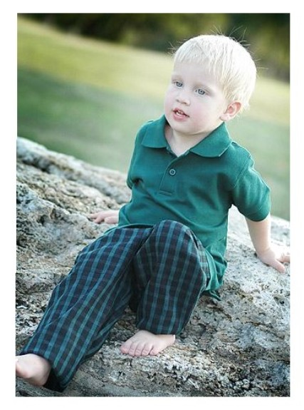 Toddler Boys Blackwatch Plaid Pants