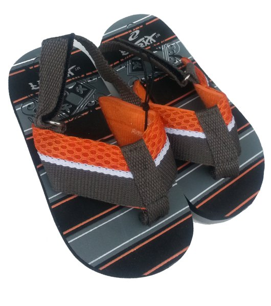 Toddler Boys Flip-Flop Sandals - Orange