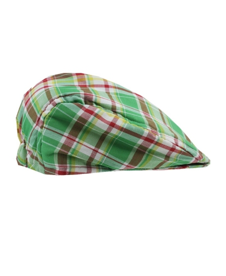 Hayden Plaid Cotton Newsboy Driver Cap