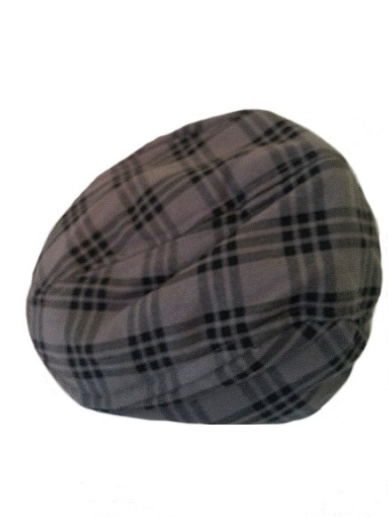 Rugged Butts Newsboy Driver Hat - Gray