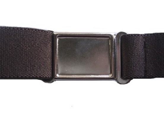 chocolate brown magnetic belt