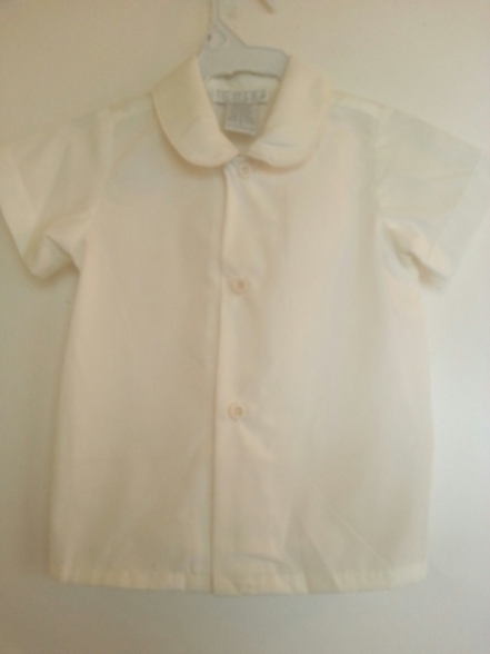 Lot of Boys Eton Shirts - Ivory
